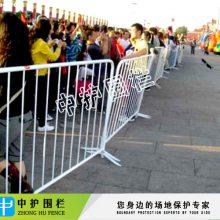 不锈钢铁马 广州出口移动护栏网-晟护