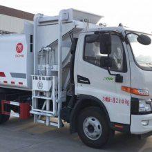 湖北江淮骏铃V6国六高端餐厨垃圾车 3365轴距+德威动力163马力