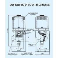 数控机床专用 卢布特DUO-MAX自动注油器