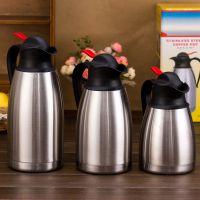 己米厂家直销 欧式保温壶不锈钢热水壶家用防尘咖啡壶 家用办公室保温水壶批发