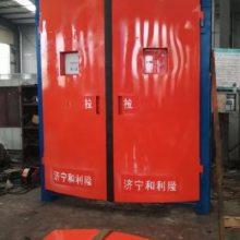 纯气控连锁减压风门技术/连锁减压风门要求/矿用连锁减压风门安装