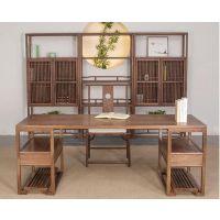 贵阳古典中式屏风、博古架、书架、书画桌批发 贵阳中式家具,新中式家具