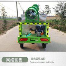 山东鸭脖app手机客户端下载电动雾炮洒水车 小型三轮喷洒机 园林树木洒水机