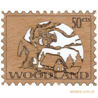 供应创意竹木制明信片(环保形)