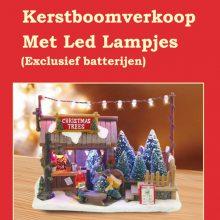 定制批发创意用品欧式风格树脂圣诞节日装饰房子LED灯 圣诞树脂工艺品摆件