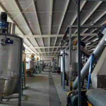 PET回收再利用生产线 塑料瓶碎片粉碎生产线详细设计工程图纸和报价