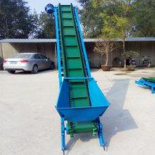 块状物料装车输送机 650mm带宽沙子皮带机 55米长水平式输送机qk