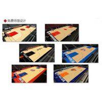 天津室内篮球场PVC枫木纹运动地板