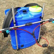 精品销售家用农田打药喷壶 背负式电动喷雾器 支架8喷头雾药机