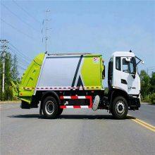 垃圾清运车道路垃圾处理车 挂桶式环卫垃圾车徐工环卫车