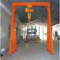 沙井旋壁吊架,移动带脚轮龙门架,手动葫芦龙门架