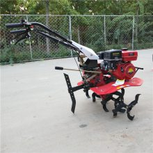 供应优质小型汽油柴油旋耕机 多功能小型微耕机