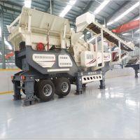 济南移动式破碎站 建筑垃圾处理生产线 碎石机厂家