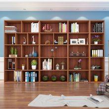 佛山自由组合书柜 简约二门 三门板式办公书柜 多功能柜资料柜定制