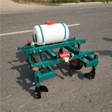 拖拉机带动的花生播种机 多用花生播种覆膜机 乐丰牌