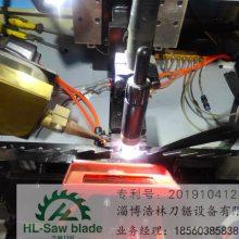 供应浩林刀锯司太立合金锯条全自动焊齿机