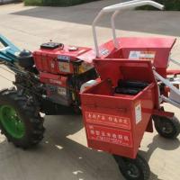 山西棒子苞谷收获机 手扶柴油棒子掰玉米收获机 澜海机械