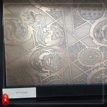 上海不锈钢仿铜板 豪华门框包边定做 工程装饰板酒店装潢用镀铜板