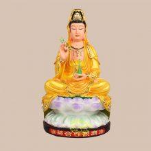 樟木观世音佛像报价 南无观音菩萨佛像 寺庙大型供奉佛像摆件 家供观音菩萨像