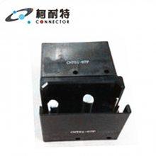 【充电桩电源连接器热插拔端子机柜连接器航空插头4芯四方形