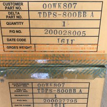 TDPS-800BB B 01AC307 R0636-F0060-03 V5000存储柜电源