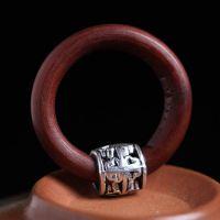 鸡血藤戒指 西藏野生鸡血藤手镯 藏银指环 手饰品厂家直销批发