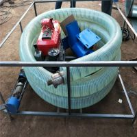 螺旋式加厚型无轴抽粮机 牛筋管多功能电动吸粮机