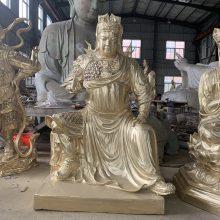 昇顺法器铜佛像厂家订购毗卢遮那佛铜佛像 韦陀菩萨铜佛像