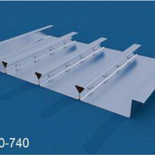 YXB40-185-740闭口楼承板技_Q345镀锌闭口压型钢板_上海外高桥办公楼选用压型钢板板型