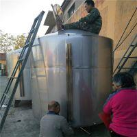 储存罐酿酒发酵设备 甄锅冷却器设备供应