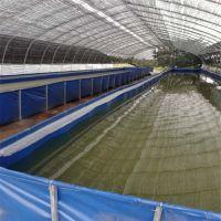 天篷帆布刀刮布水池、小龙虾养殖帆布水池、大棚养殖加厚帆布鱼池