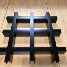 铝格栅规格颜色可方形定制厂家格栅铝吊顶批发销售