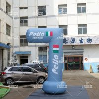新款模型道具 3.5米高L型柱高仿真气模 房地产景区布景气模 户外广告宣传