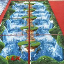 多维饰界5D纳晶墙地砖设备出厂价格