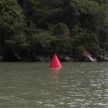 高强度工程塑料航标 河道锥形浮标价格