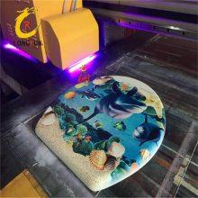 智能彩绘平板打印机 马桶盖浮雕5D打印机 马桶盖图案打印机厂家