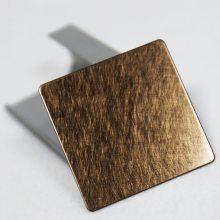 印象派金属批发乱纹古铜色不锈钢装饰板材