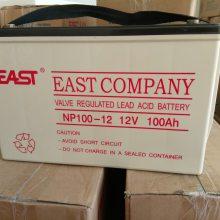 易事特蓄电池12V100AH NP100-12 现货供应 UPS专用免维护铅酸蓄电池