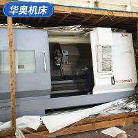 沈阳时空机床 HTC50100车削中心 发那科系统二手数控车床厂家