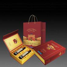 深圳长方形双开门翻盖礼盒 创意茶叶礼品包装盒礼盒套装定制