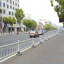 茂名市政道路护栏怎么安装 组装式免焊接底盘安装护栏定制
