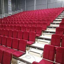 体育篮球场礼堂电影院伸缩看台座椅手电移动观众活动固定室内软包看台定做