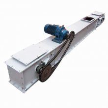 同江市污泥刮板输送机 石灰粉刮板上料机 刮板输送机厂家qk