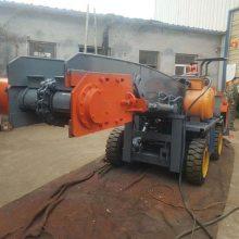 小型多功能防爆扒渣机矿山水电隧道工程的碎石土料采集及输送施工装车