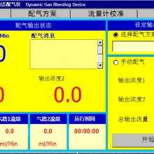 烟气分析仪用动态气体稀释仪,动态配气仪,高精度MFC,二气路