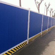 施工围挡挡板 工程建筑 道路施工围挡 临时修路彩钢围挡