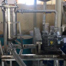 福建油漆过滤机 袋式气动过滤机 灌装机配套过滤设备