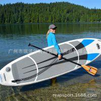 质美价廉水上充气冲浪板成人eva优质材质充气划水板水上滑水板