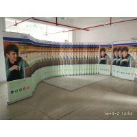 深圳厂家定做商场宣传广告易拉宝海报画面高清喷绘制作