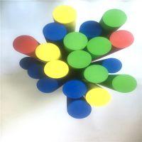 生产儿童积木柱子 泡棉实心EVA柱子 线切割EVA海绵方块